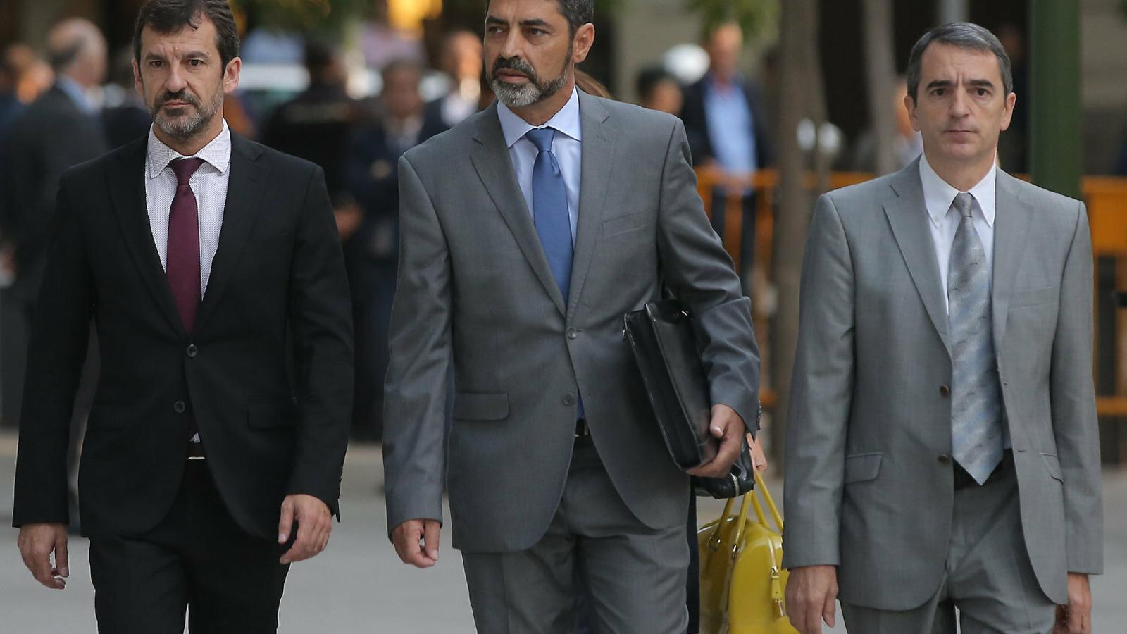 Els Mossos envien un informe al judici contra Trapero sobre el pla que tenien per detenir el Govern per la DUI