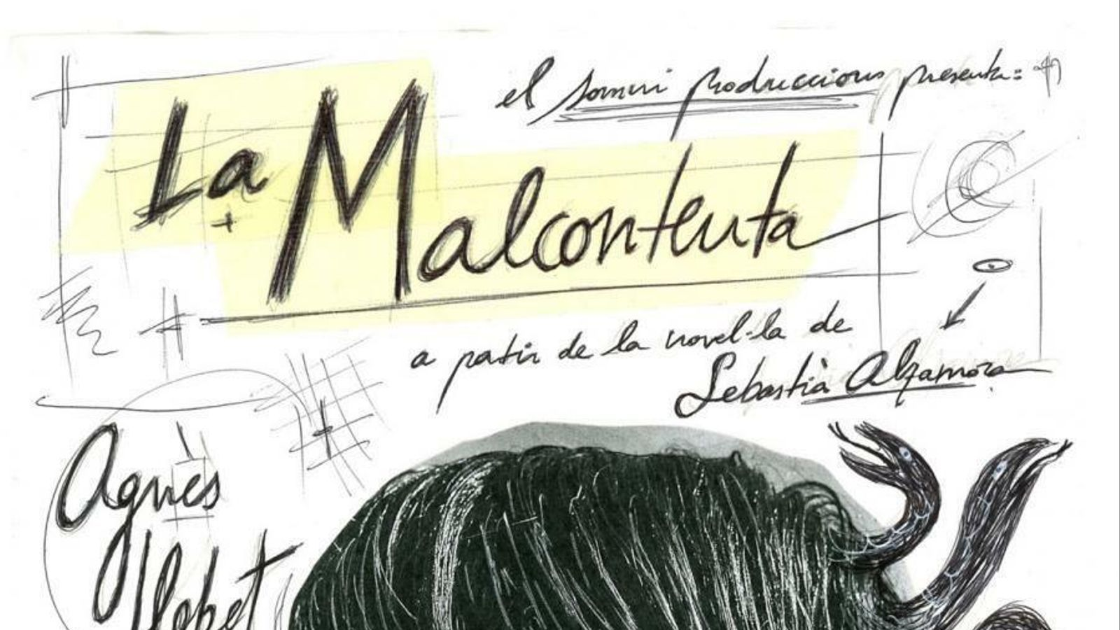 'La malcontenta', adaptació teatral de Rafel Gallego sobre l'obra de Sebastià Alzamora que dirigeix José Martret i interpreta Agnès Llobet