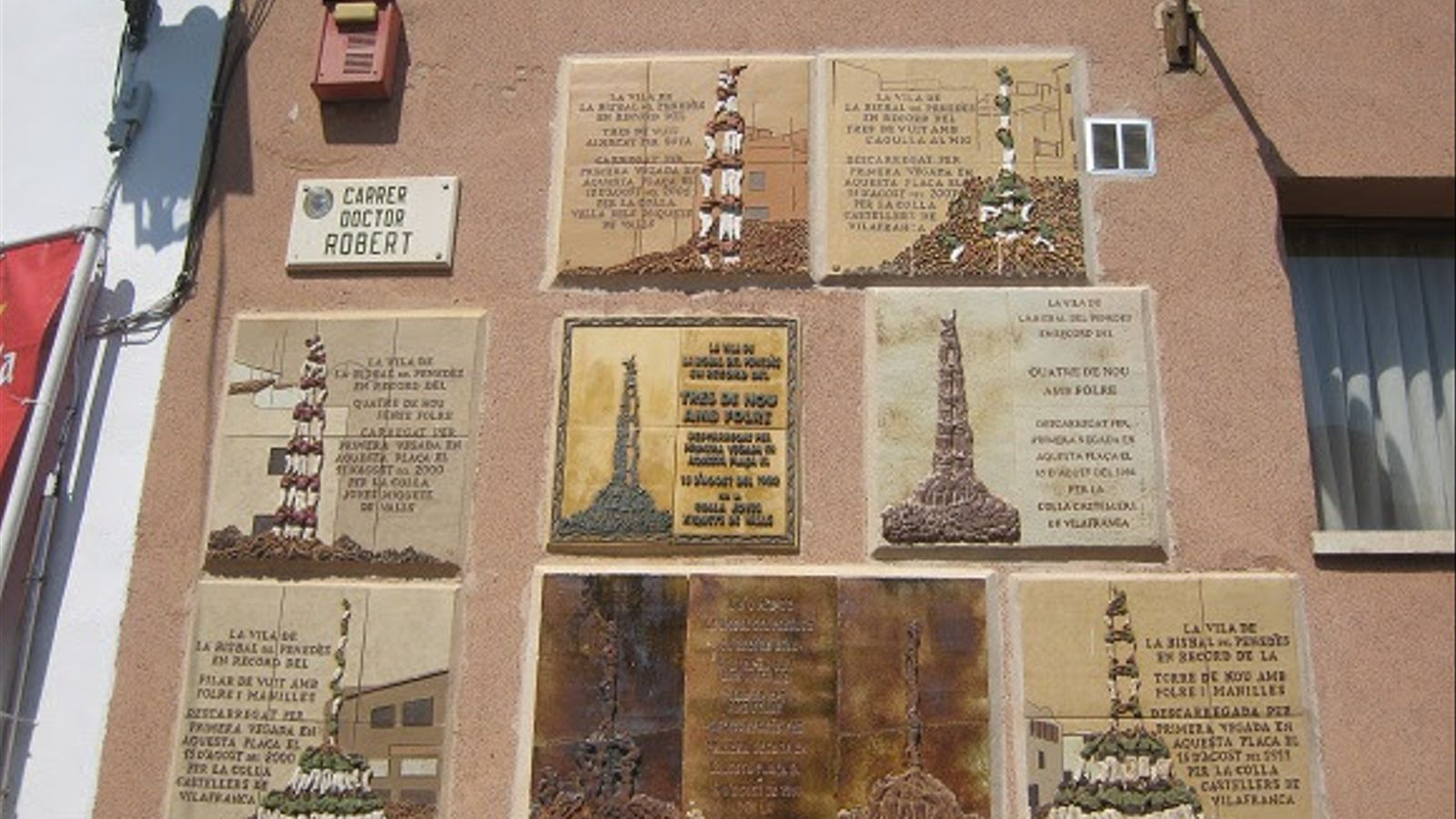 La bisbal commemora les fites castelleres de la vila - Tiempo la bisbal del penedes ...