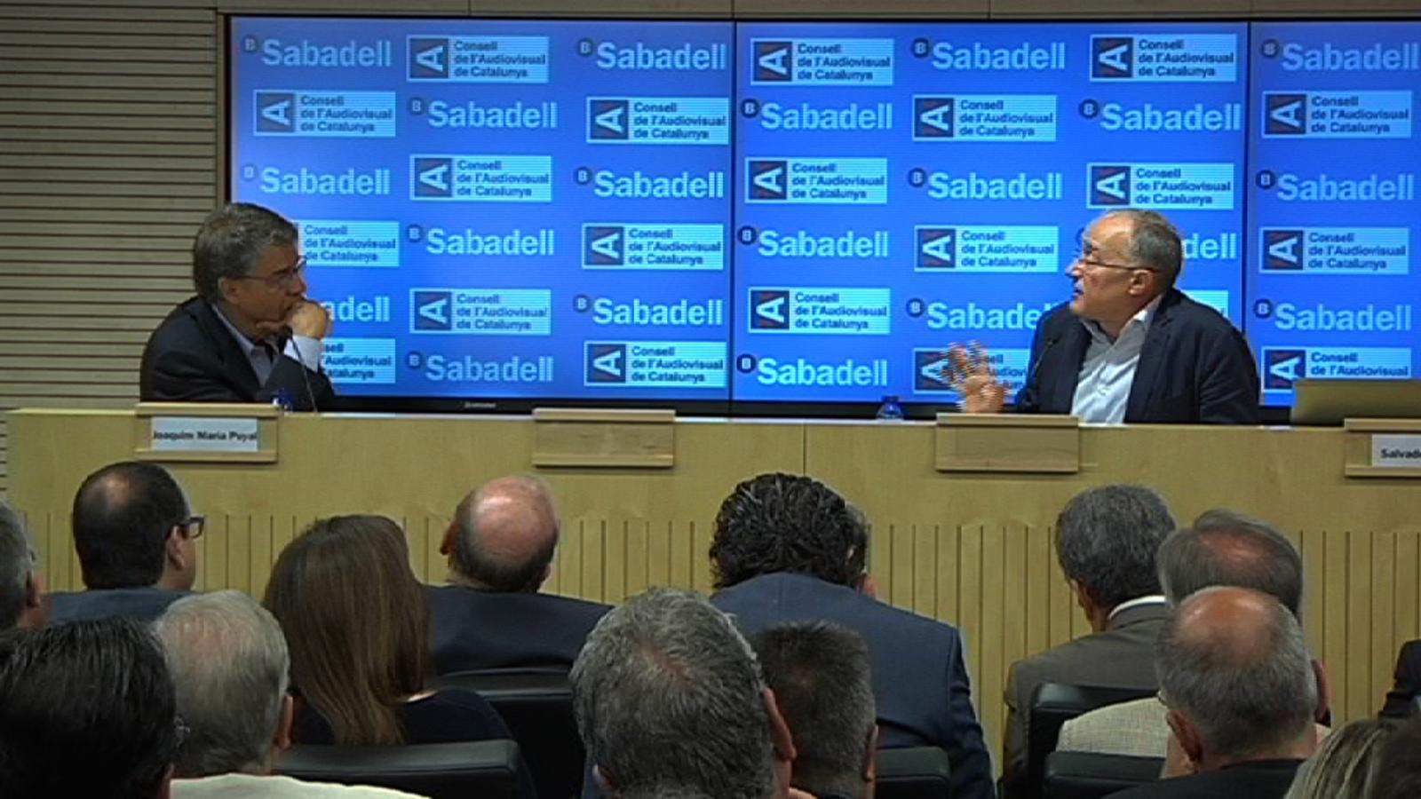 Salvador Cardús: El lector ara té una gran capacitat d'elecció, i el mitjà s'ha de guanyar la seva confiança