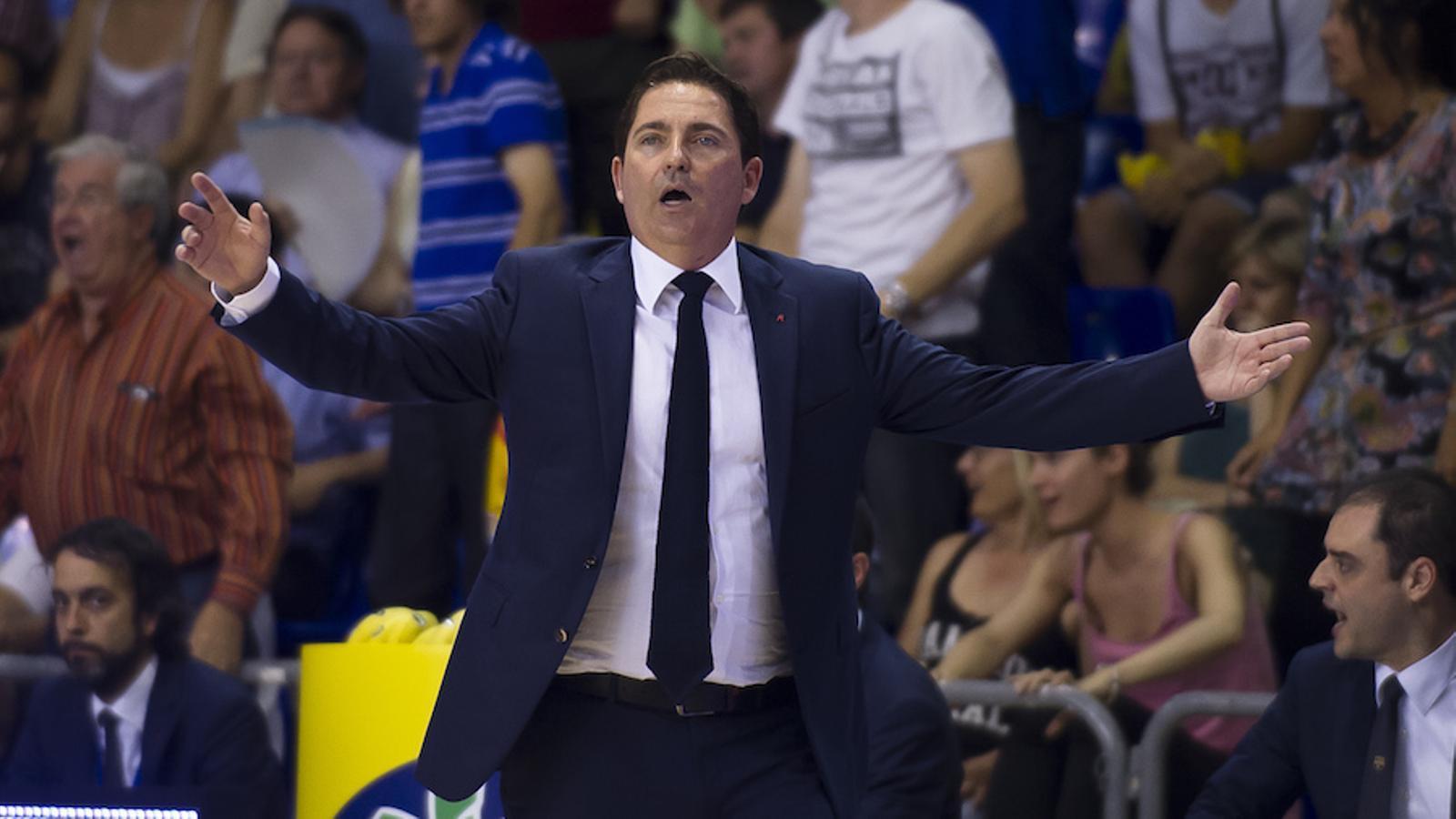 Xavi Pascual analitza la defeta contra el València Basket