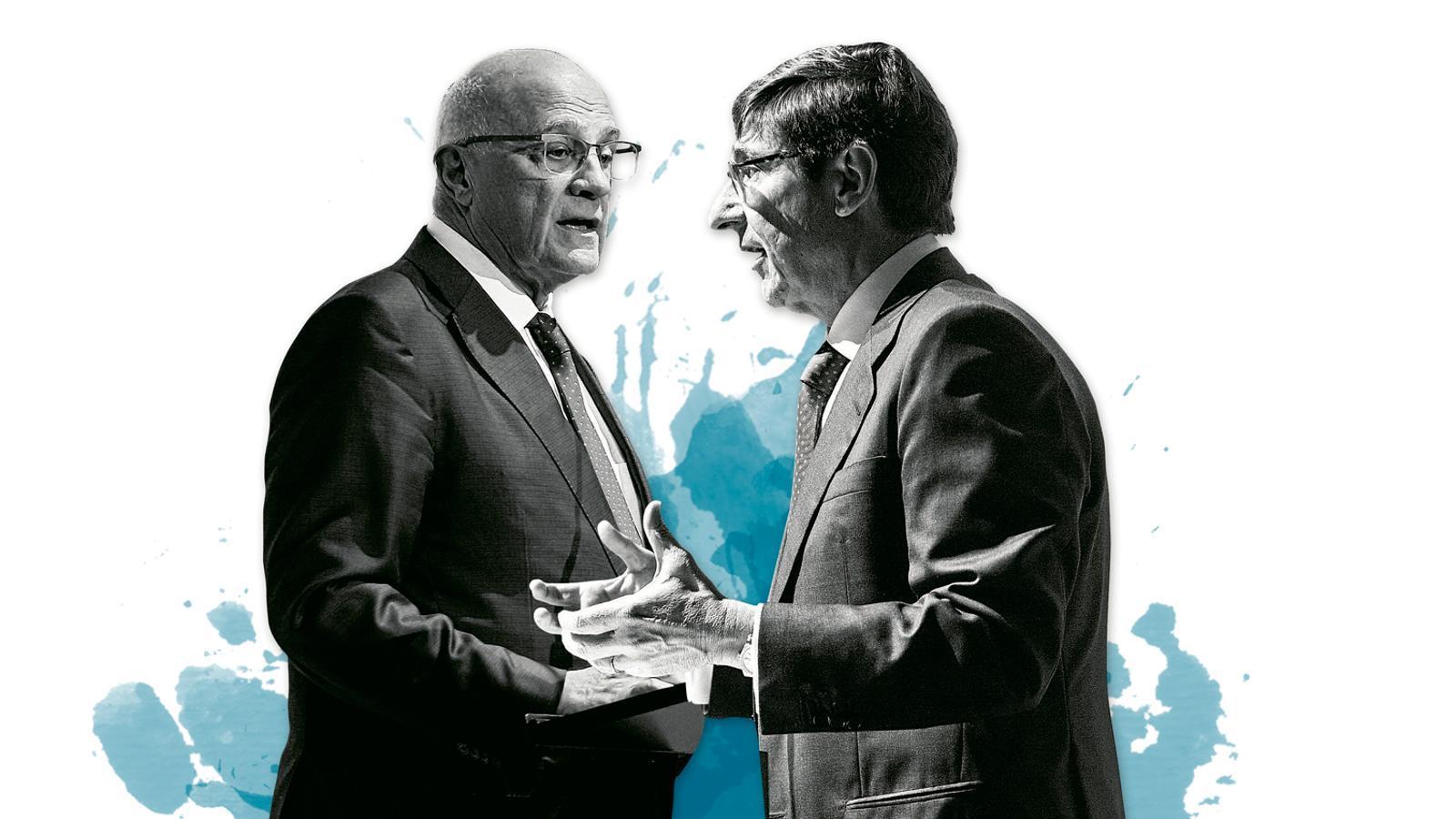 Banc Sabadell i Bankia,  una fusió pendent de Podem