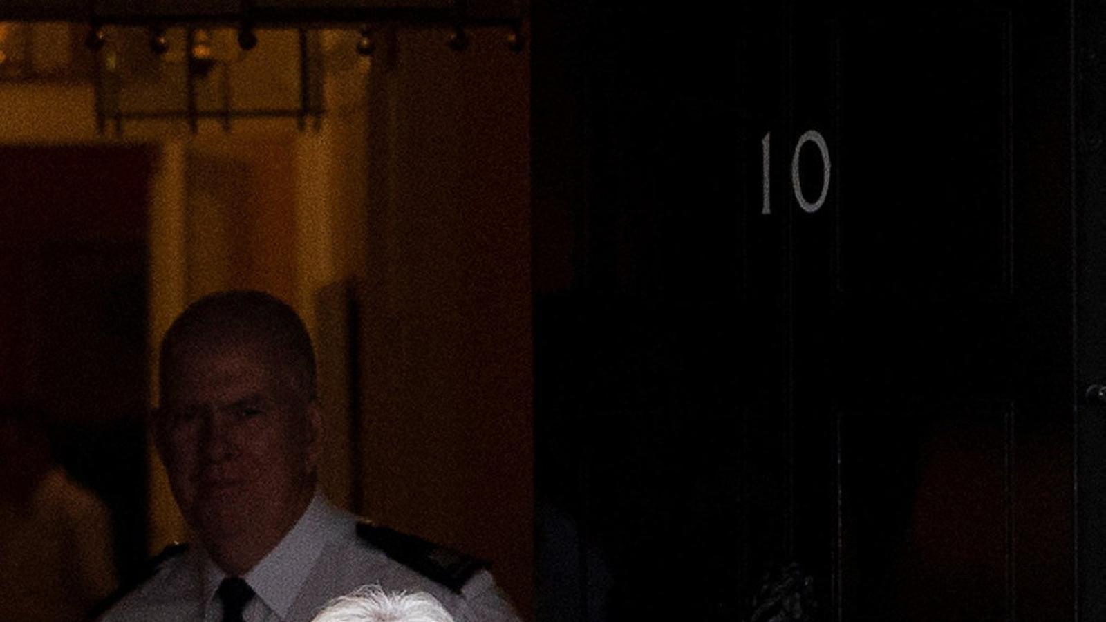 Theresa May va comparèixer al Parlament.