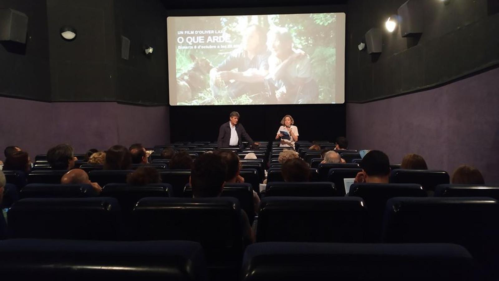 El cinema Truffaut de Girona en una imatge d'arxiu