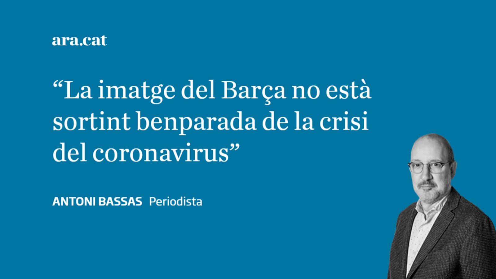 El Barça i el coronavirus