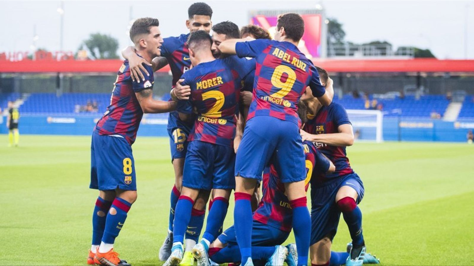 El Barça B afronta el 'play-off' d'ascens amb la plantilla més curta de tots els aspirants