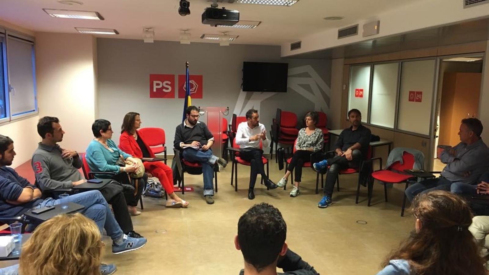 El comitè directiu del PS reunit. / PS