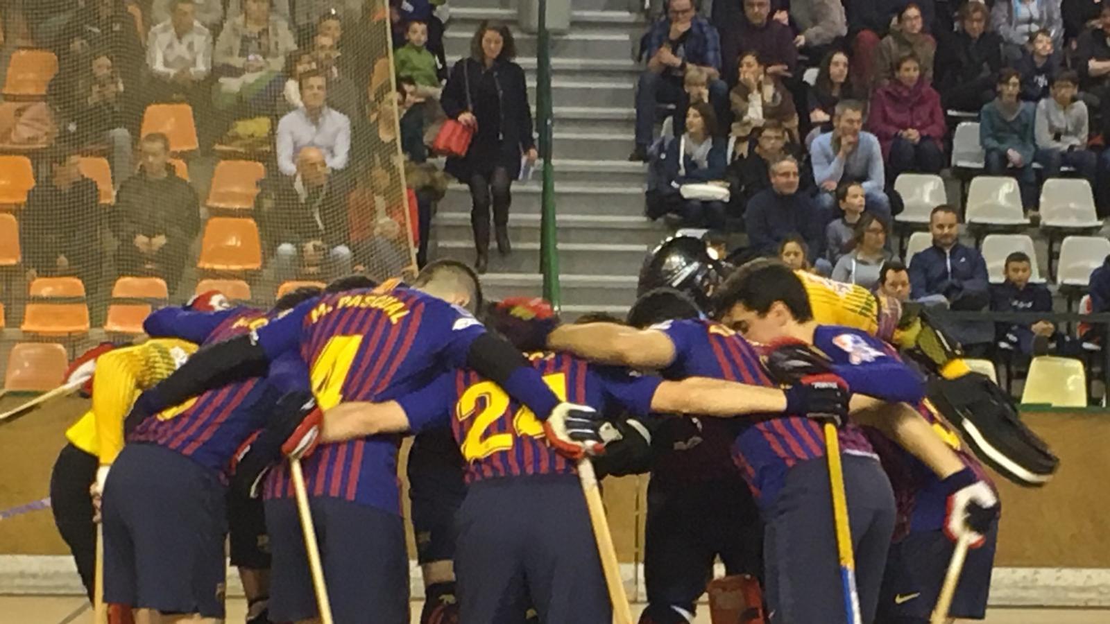 El Barça Lassa guanya a la pista del Dinan Quevert, derrotes del Reus i el Noia Freixenet