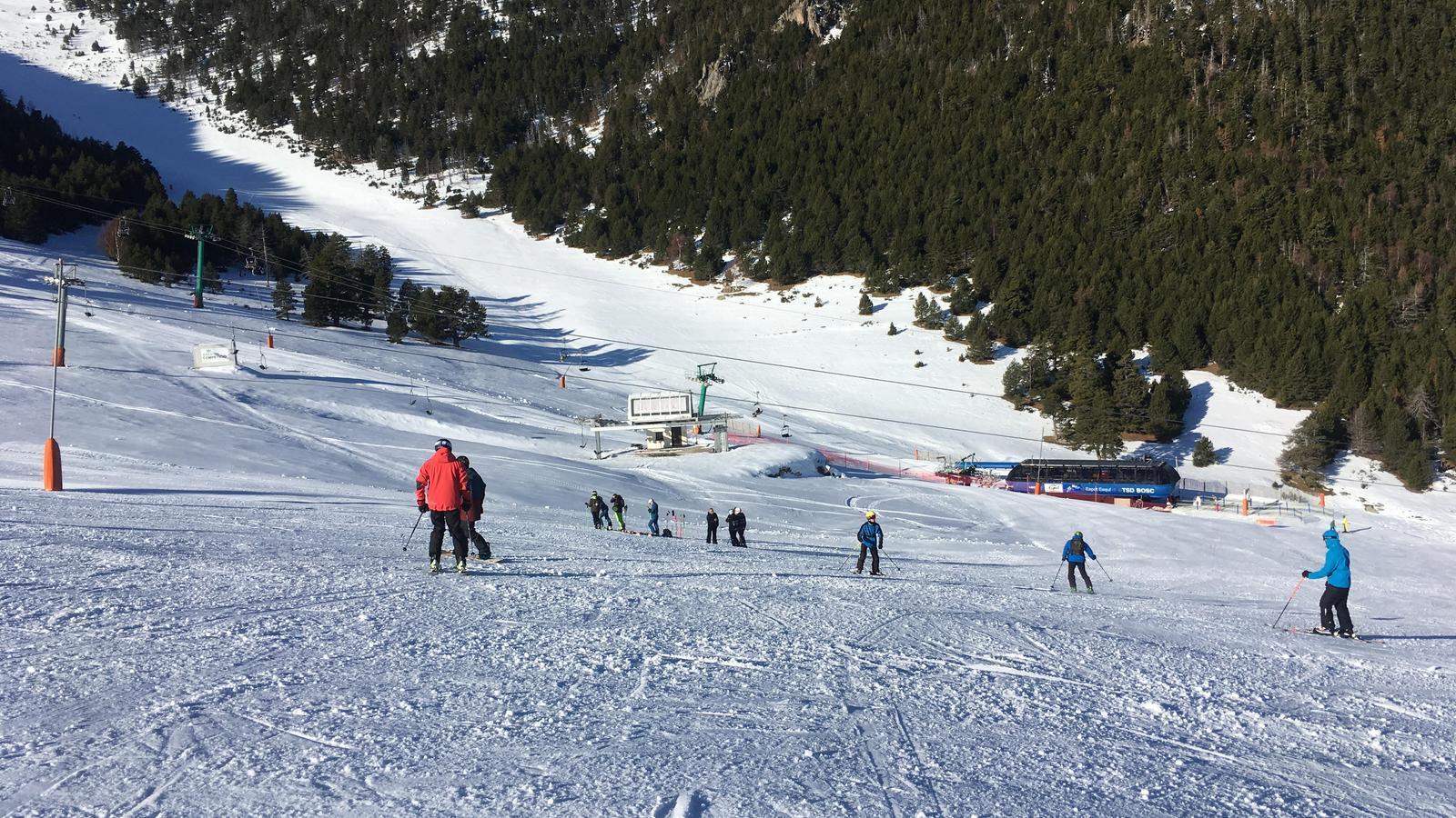 Esquiadors a Espot, la temporada 2019-2020. / G.L.T.