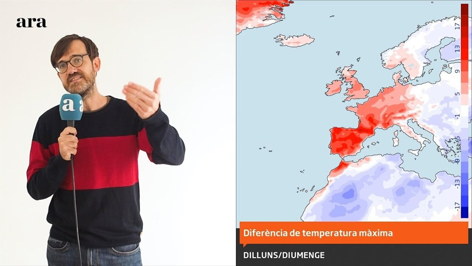 La méteo: fred a curt termini, Castanyada amb màniga curta