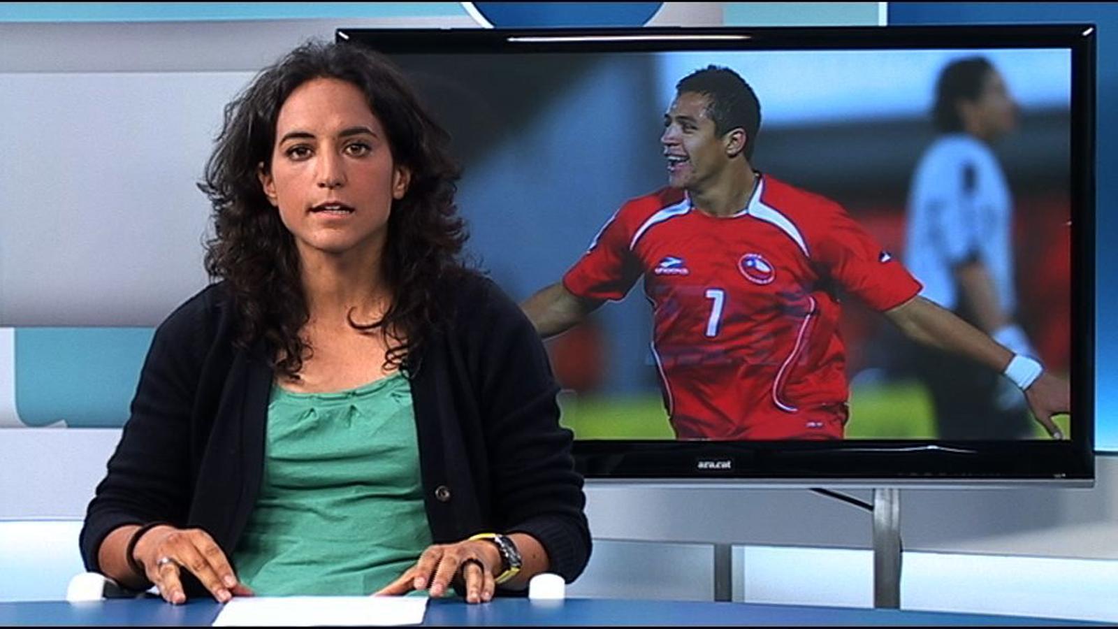Alexis Sánchez, un jugador explosiu i disciplinat