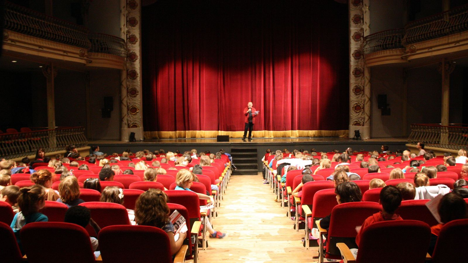 El Teatre Municipal Ateneu d'Igualada en una imatge d'arxiu.