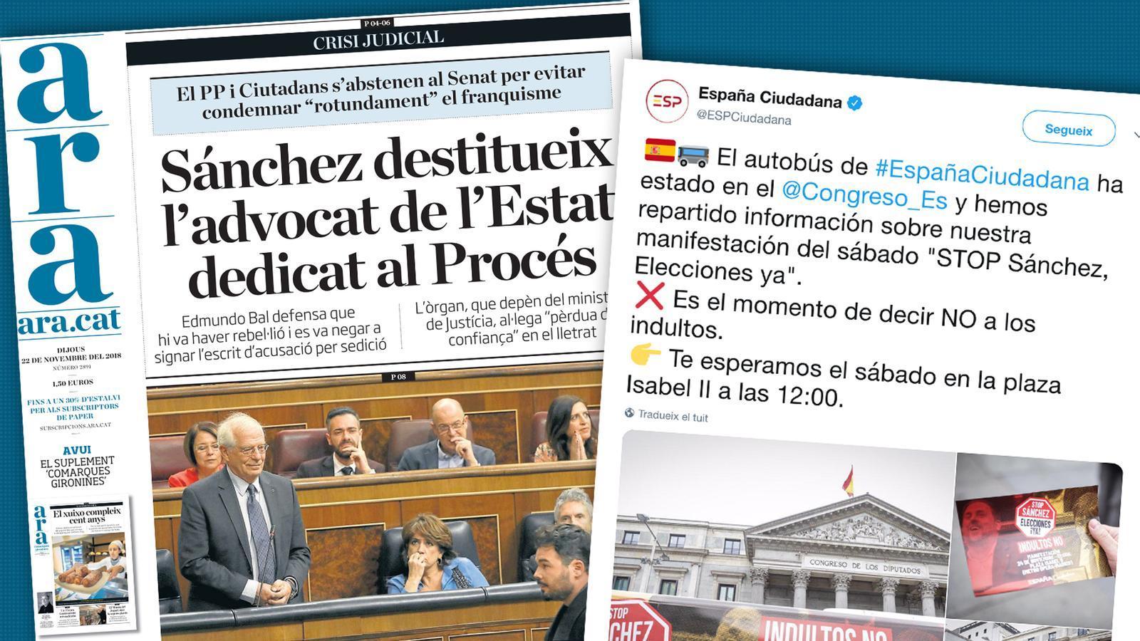 L'anàlisi d'Antoni Bassas: 'El bus de la vergonya i el truc de la sedició'