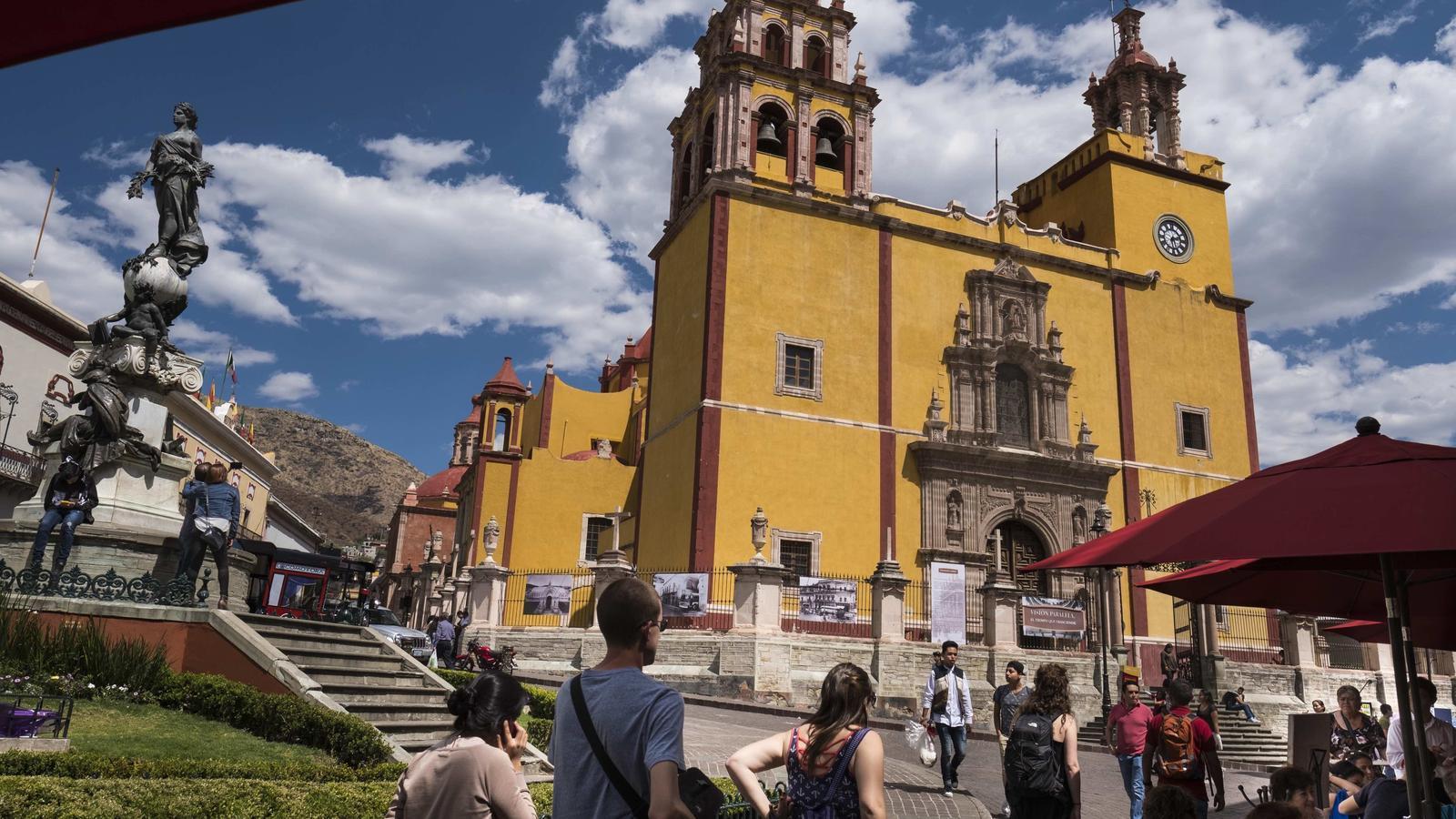 Les seves esglésies, com la basílica de Nuestra Señora de Guanajuato