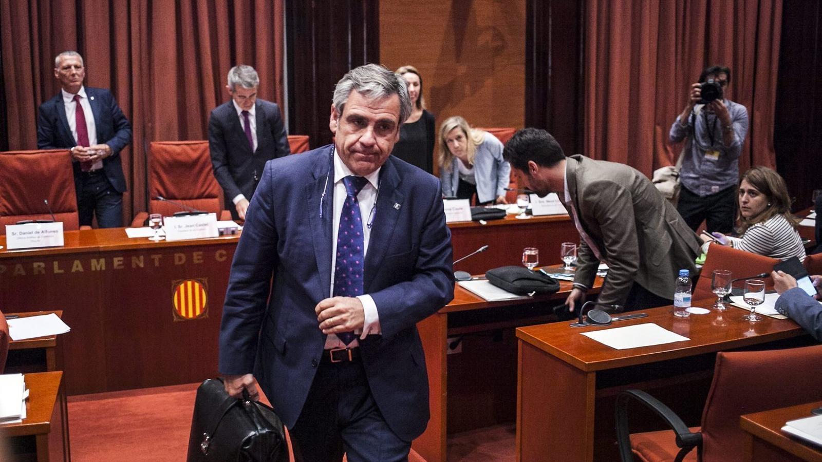 Daniel de Alfonso va cobrar d'Antifrau 70.000 euros de més