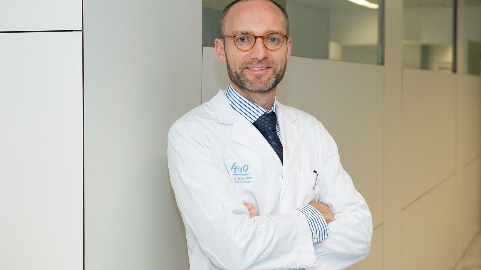El doctor Rodrigo Dienstmann, investigador principal de l'Oncology Data Science Group del VHIO.