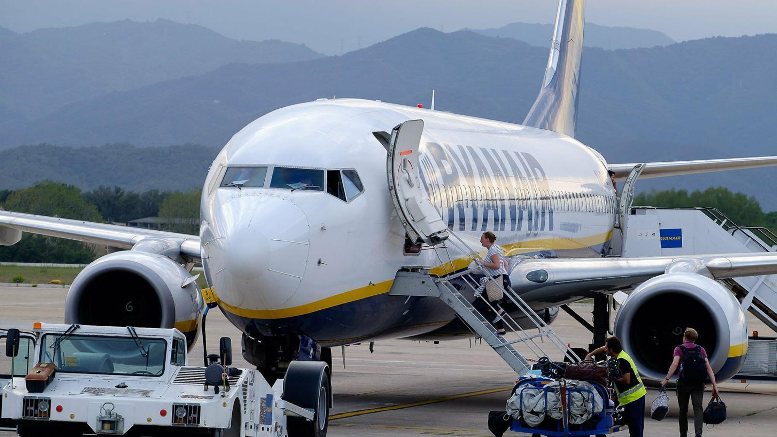 Els pilots de Ryanair a Espanya també donen suport a la vaga
