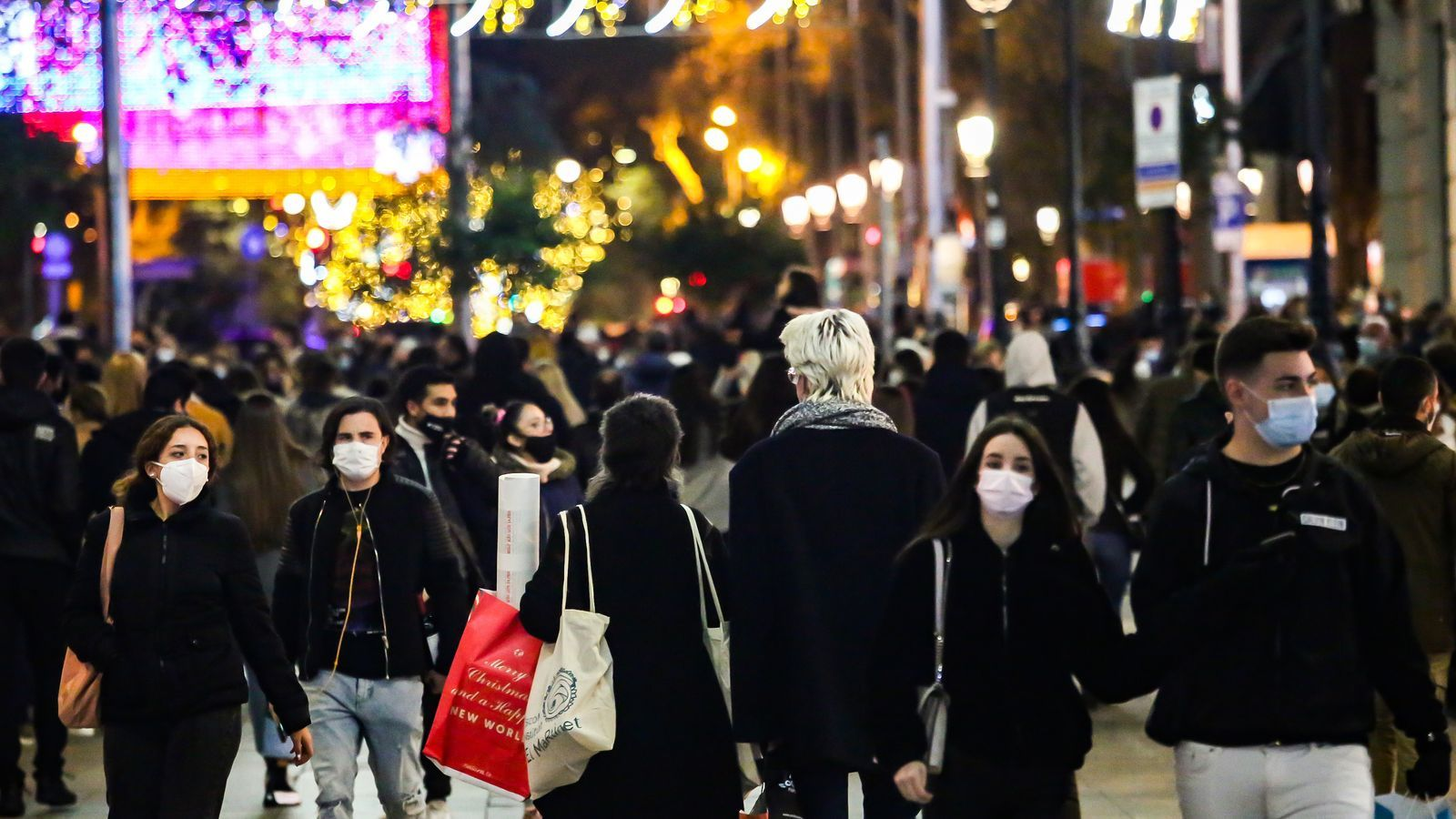 """Protección Civil pide analizar el plan de Navidad de manera """"racional"""" y teniendo en cuenta los efectos del puente"""