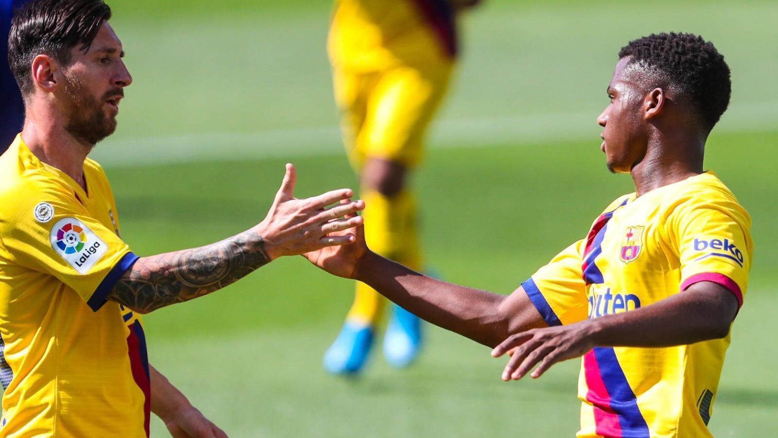 El Barça es desinfecta les ferides a costa de l'Alabès (0-5)