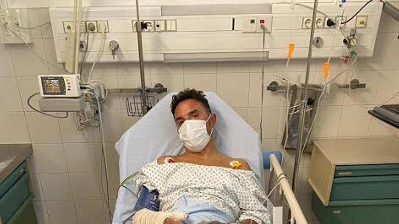 'Purito', hospitalitzat