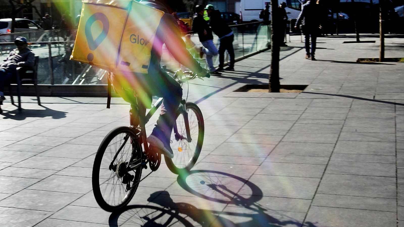 """""""La meva tasca consistia a portar coses a domicili i ho feia en bicicleta""""."""