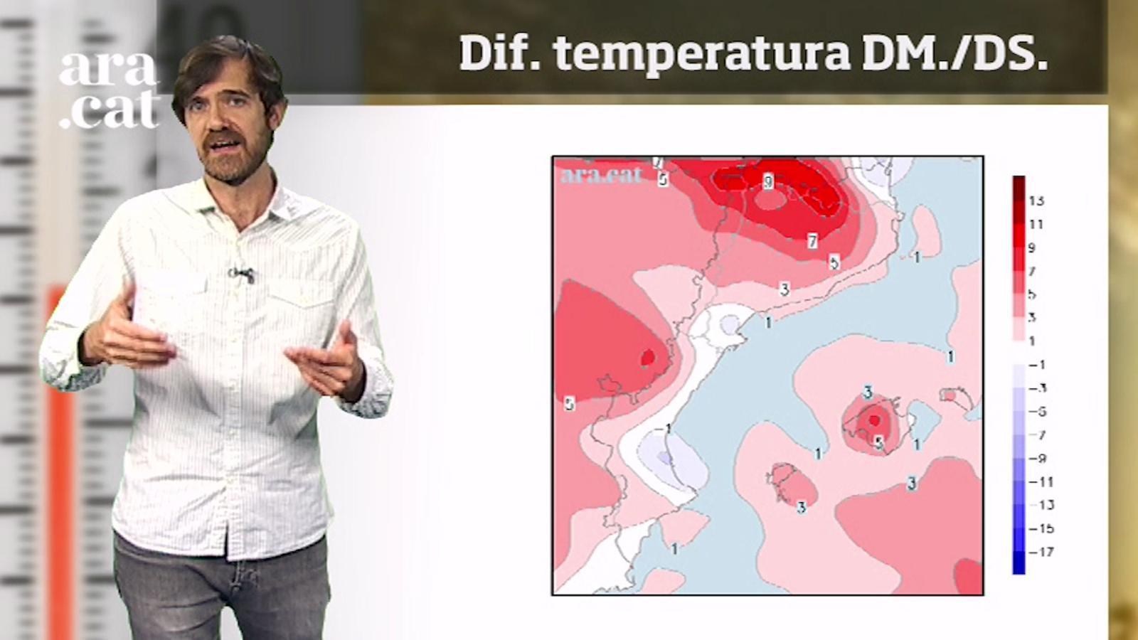 La méteo en 1 minut: primeres temperatures d'estiu a la vista