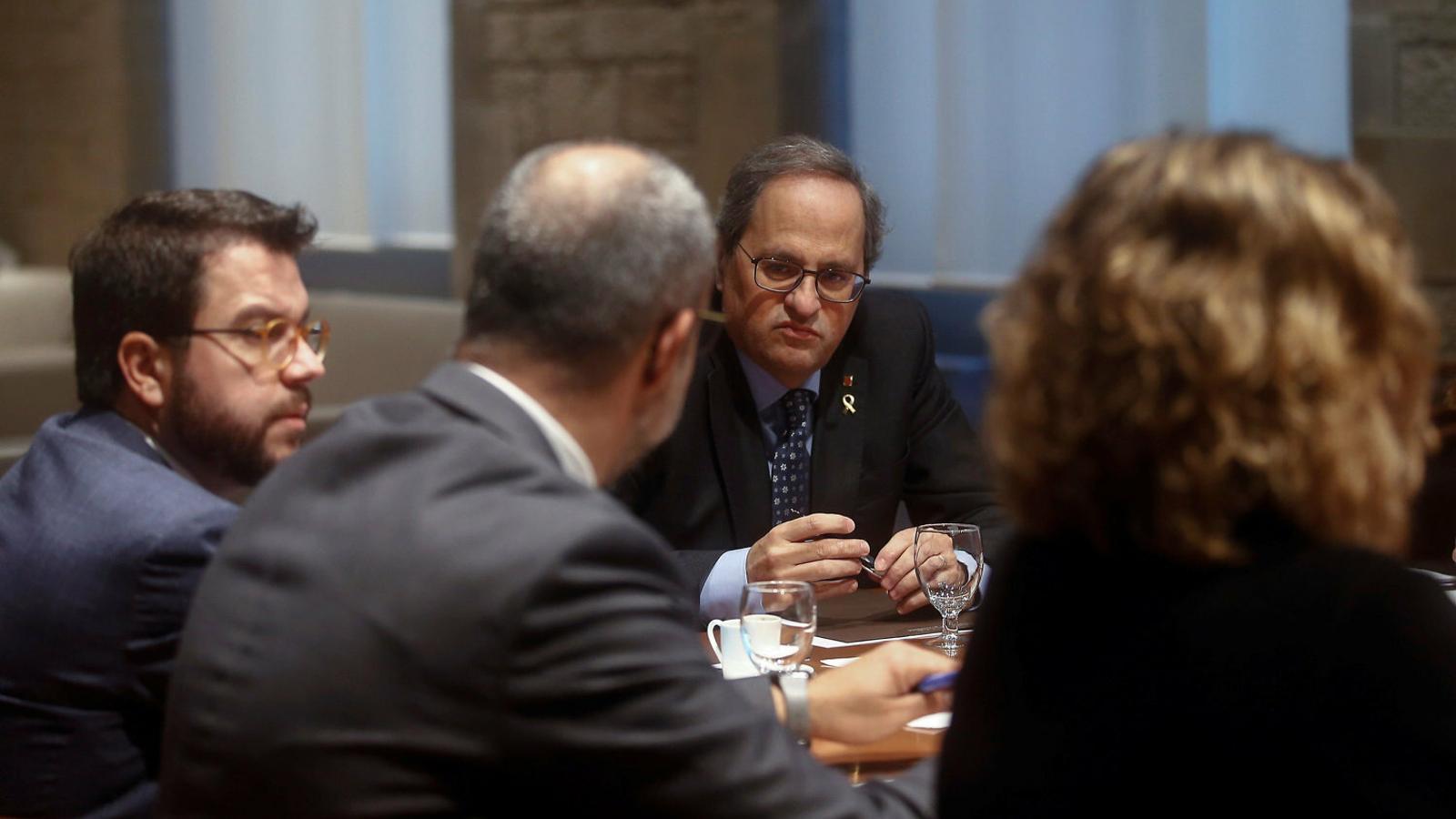 ERC, JxCat i la CUP tenen dos dies per salvar la legislatura