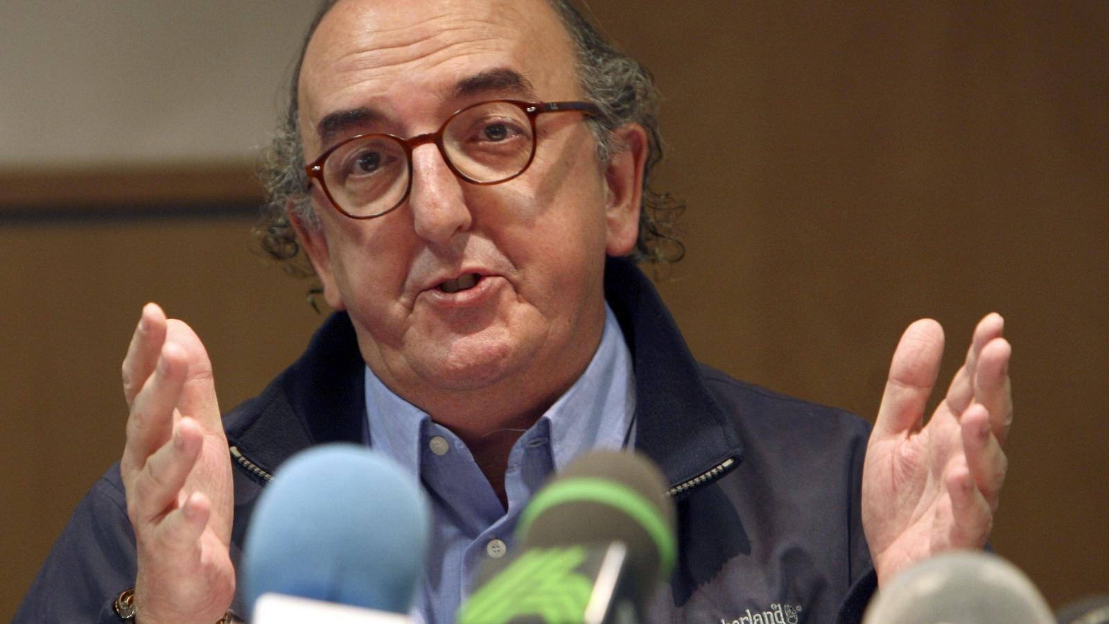 Jaume Roures, president de Mediapro. EFE