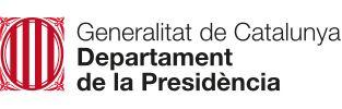 Generalitat de Catalunya Departament de la Presidència