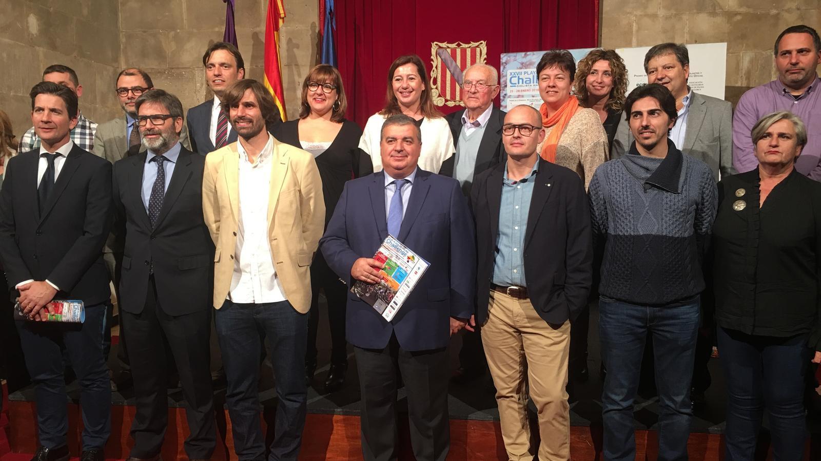 Presentació de la  XXVII Platja de Palma Challenge Ciclista Mallorca