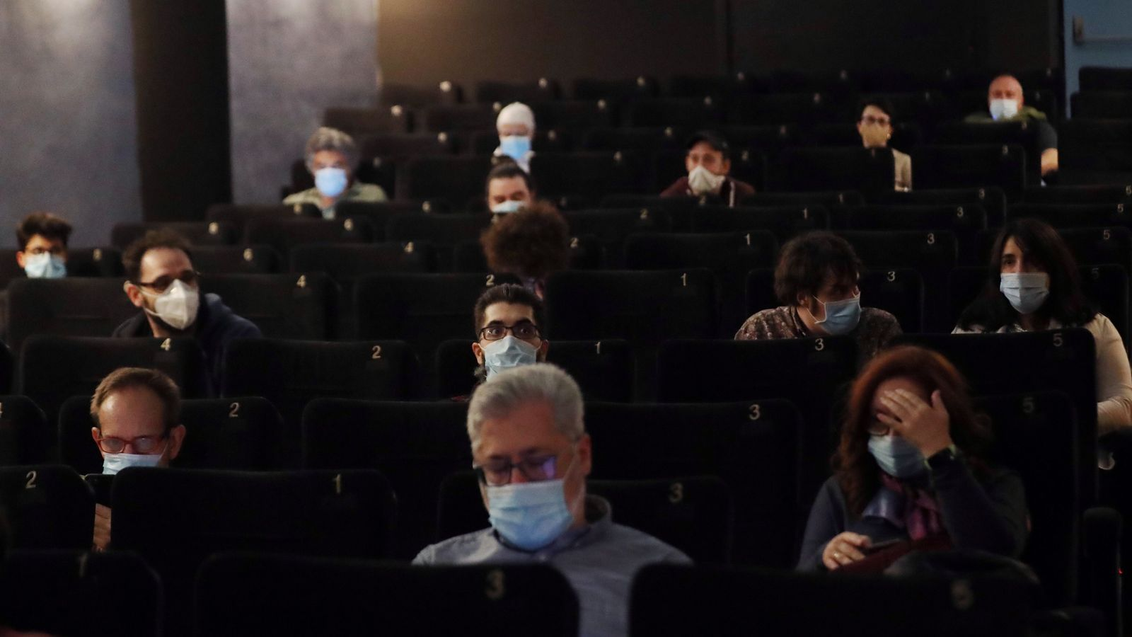 Espectadors al cinema Renoir de Madrid