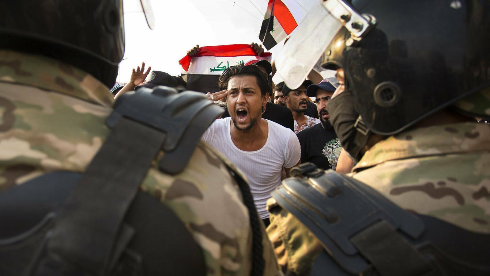 Els joves de l'Iraq diuen prou