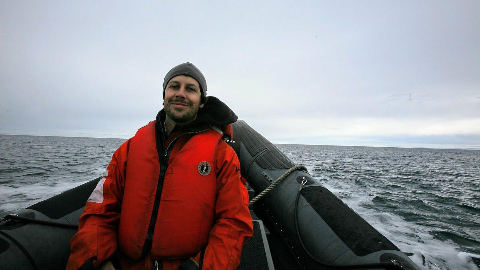 """McKenzie Funk: """"Els països del voltant de l'Àrtic faran negoci amb el canvi climàtic"""""""