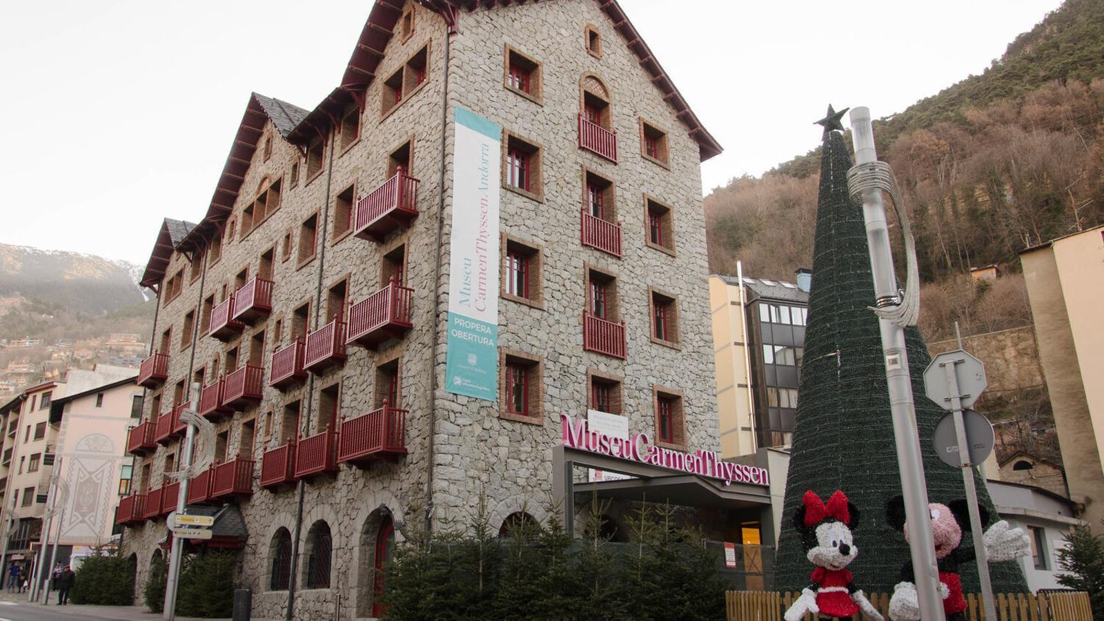 Museu Carmen Thyssen Andorra. / ARXIU ANA