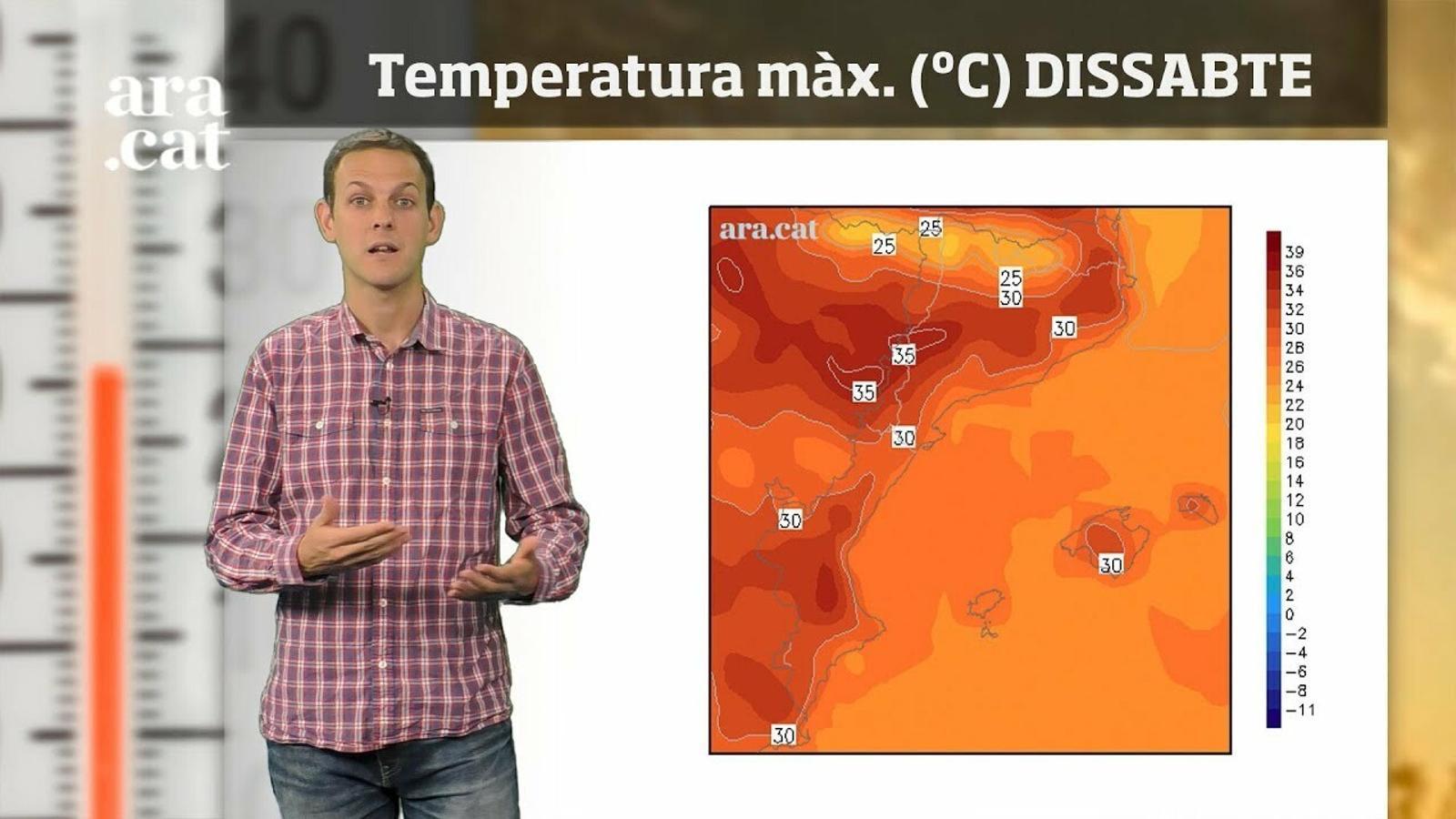 La méteo en 1 minut: a mesura que avanci la setmana farà més calor