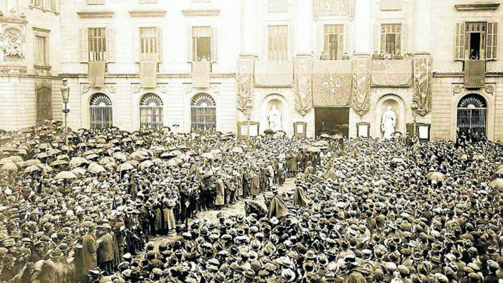 El dia que Macià es va posar al capdavant del separatisme català