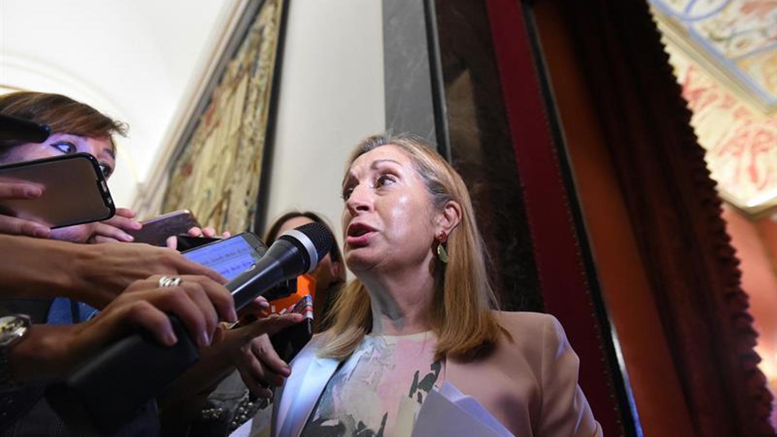 La presidenta del Congrés, Ana Pastor.