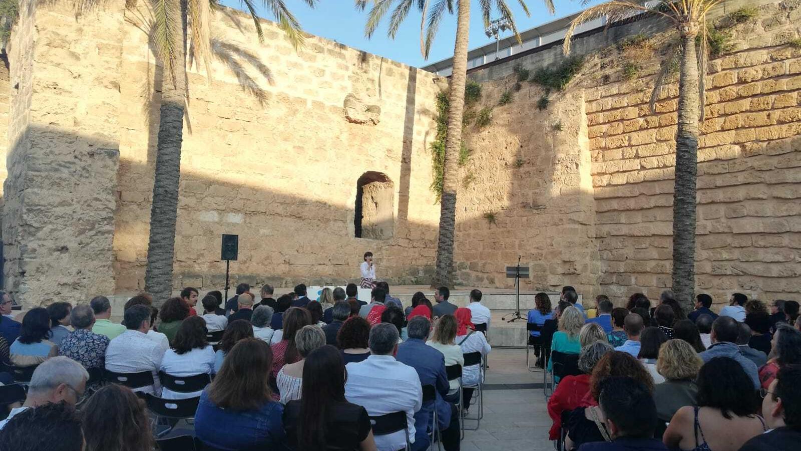 Imatge de l'entrega de Premis ARA Balears a Es Baluard