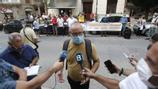 Una trentena de persones es concentren a Palma per protestar contra el preu de l'electricitat