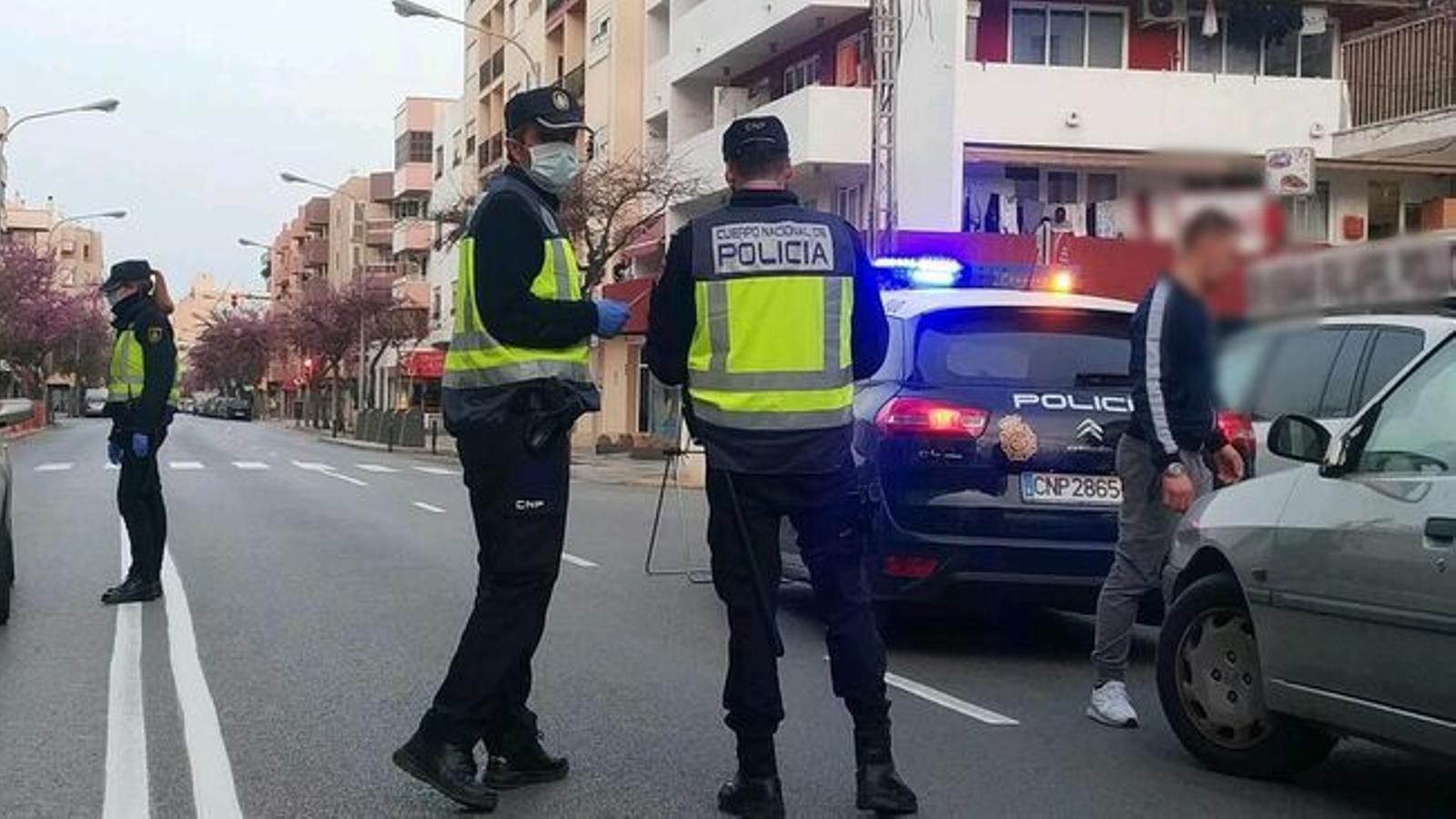 Detencions a les Balears durant el confinament. / DELEGACIÓ DEL GOVERN