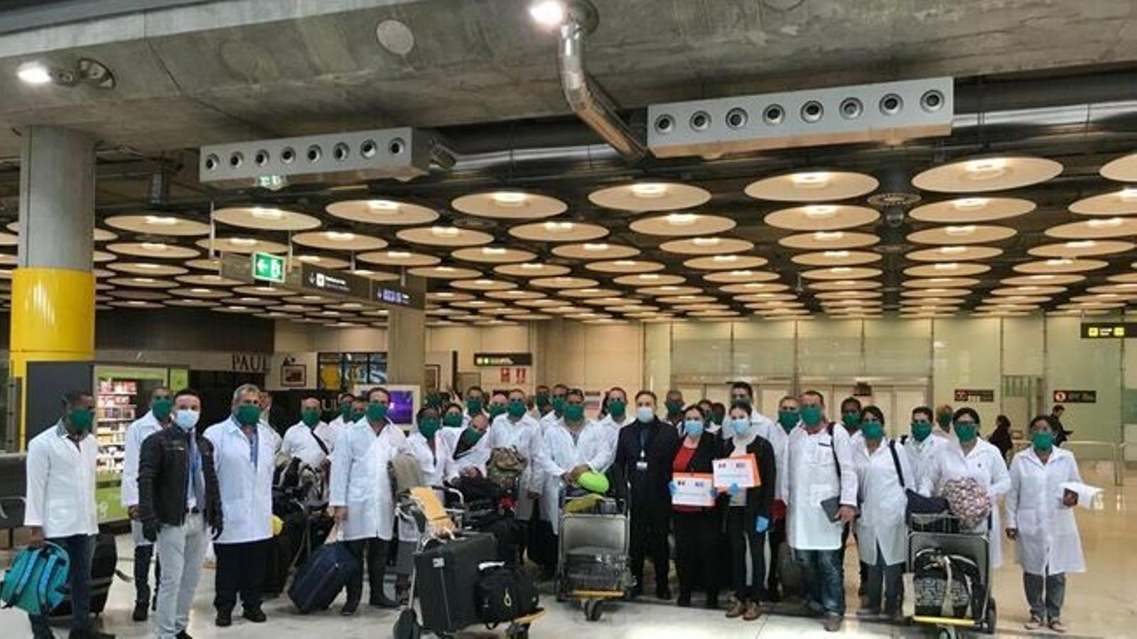 Sospiten que dos dels sanitaris cubans podrien haver marxat a Espanya
