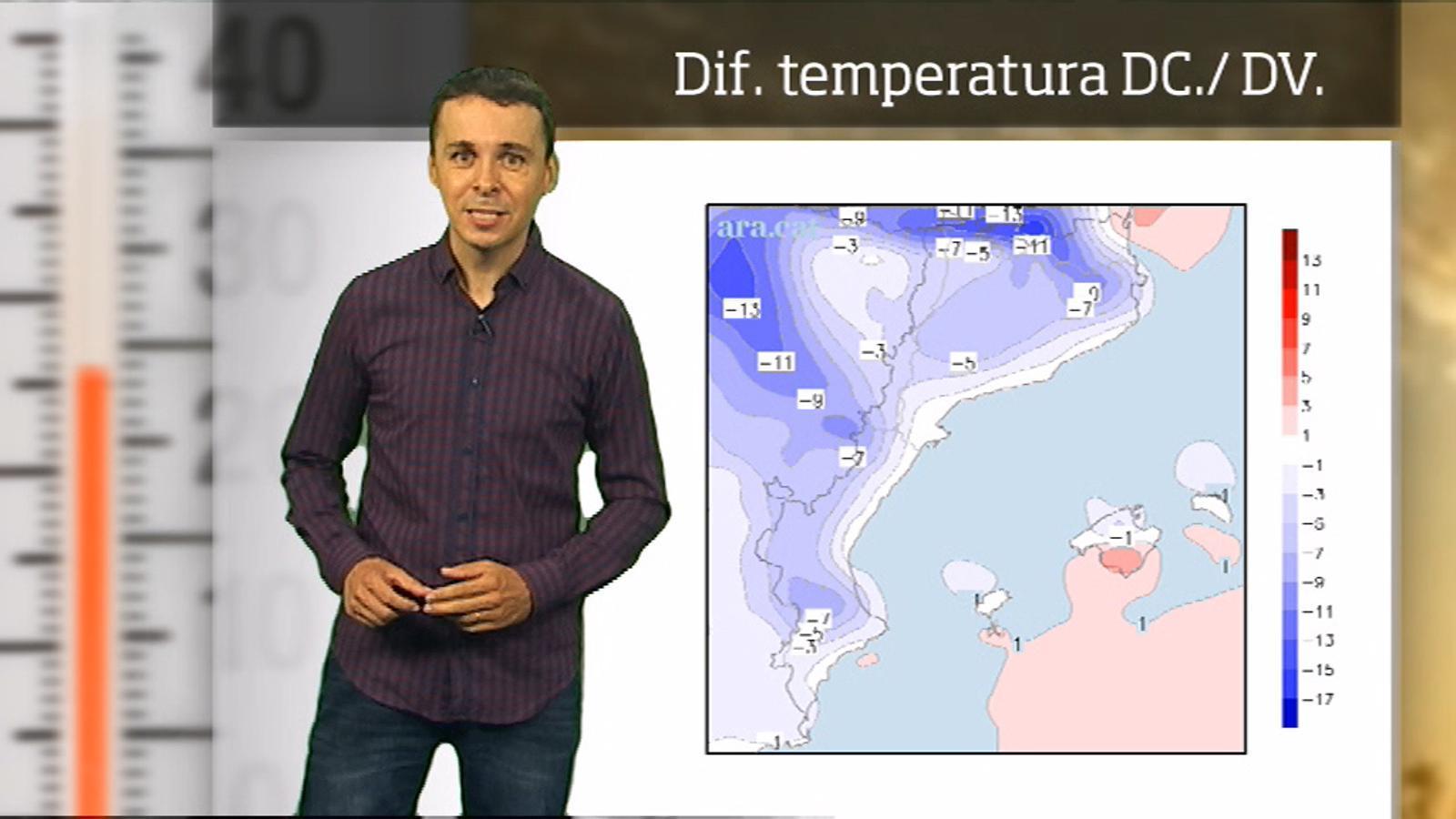 La méteo en 1 minut: cap a la normalitat tèrmica
