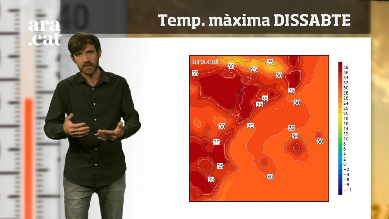 Méteo especial: arriba el pic de temperatura de l'onada de calor