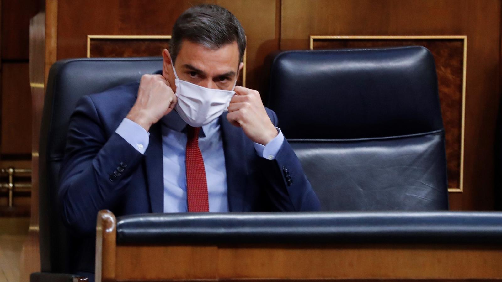 Sessió de control al govern espanyol al Congrés