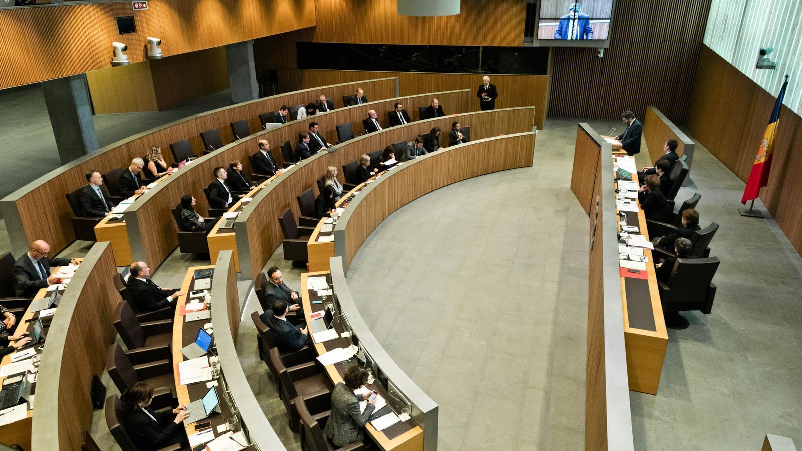 El Consell General reparteix 818.000 euros anuals als grups