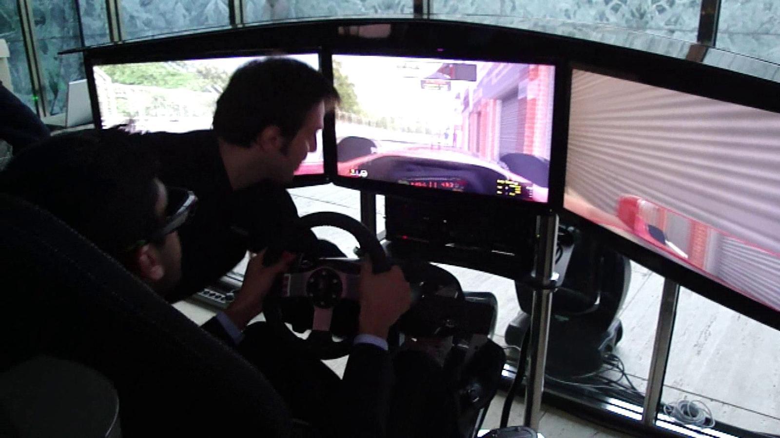 [MWC 2012] Simulador de conducció en 3D