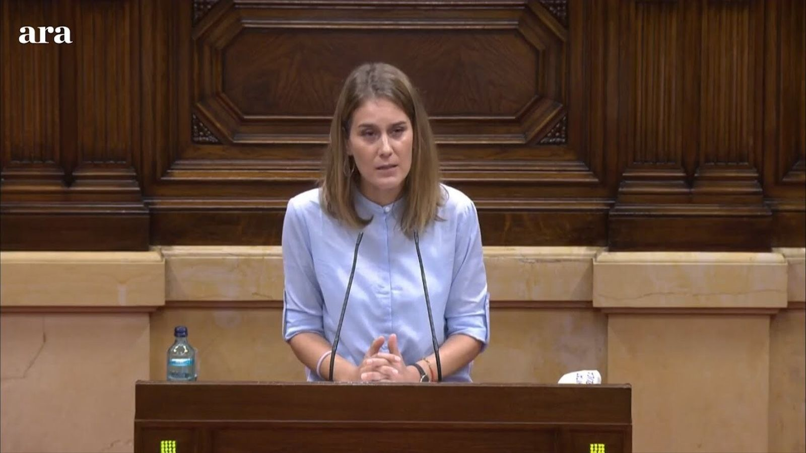 "Albiach: ""El que va fer el president Torra no va ser desobeir, va ser obeir en diferit"""