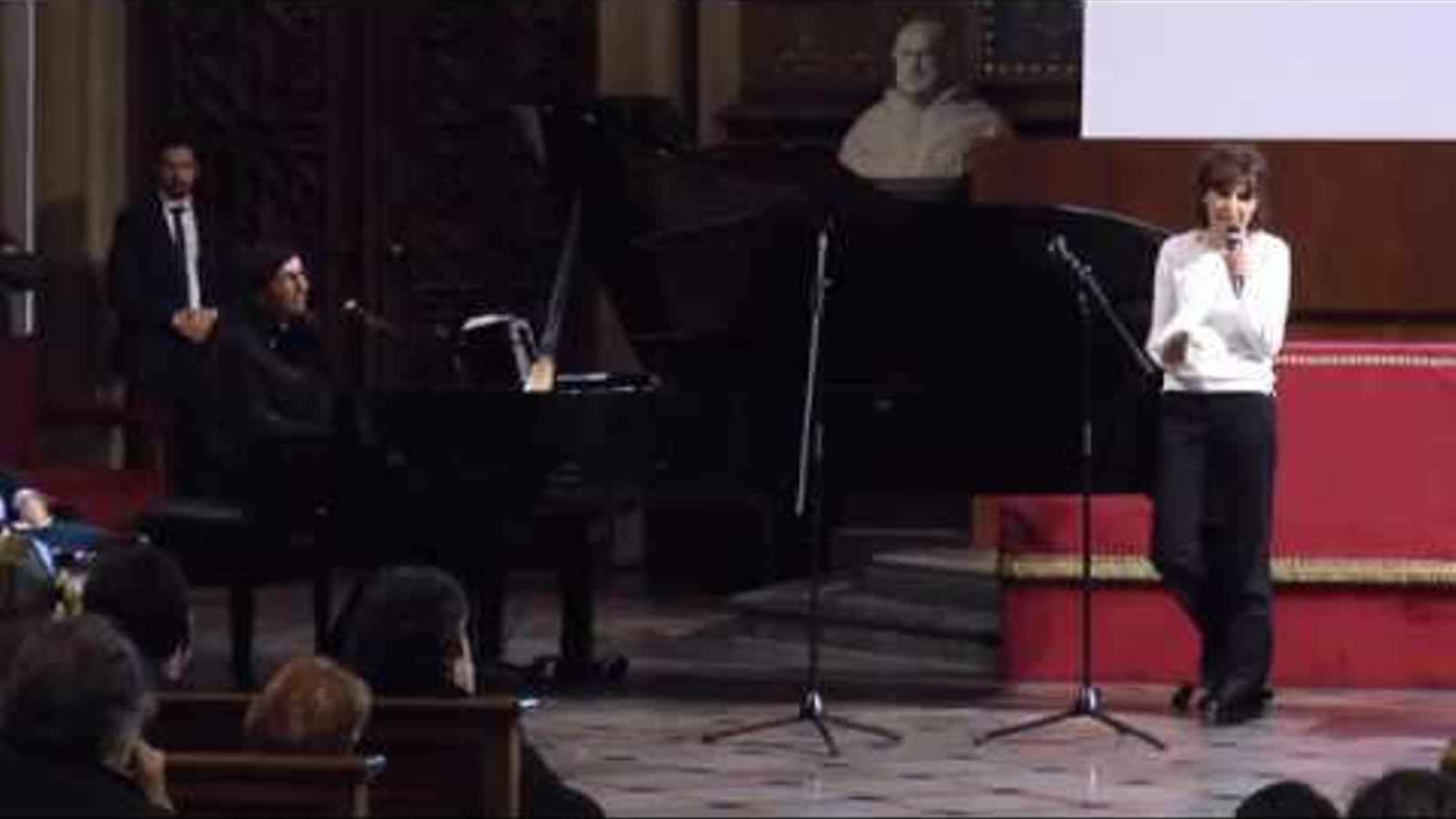 Acte d'homenatge a Muriel Casals, un any després de la seva mort