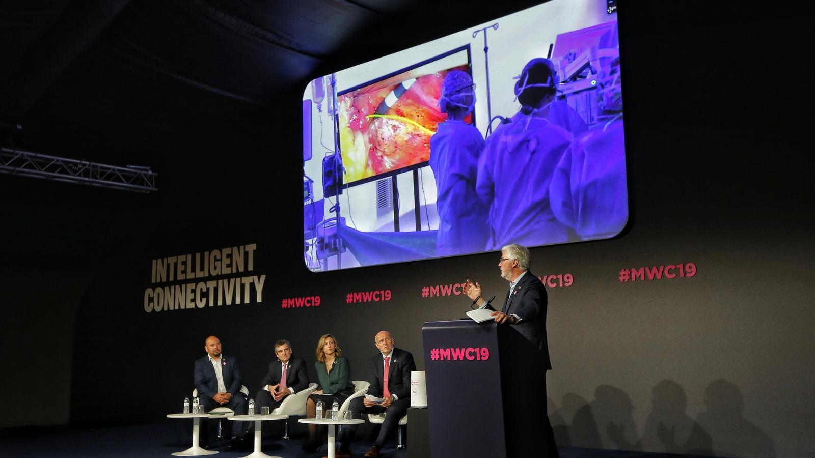 MWC: primera cirugía con asistencia remota gracias al 5G