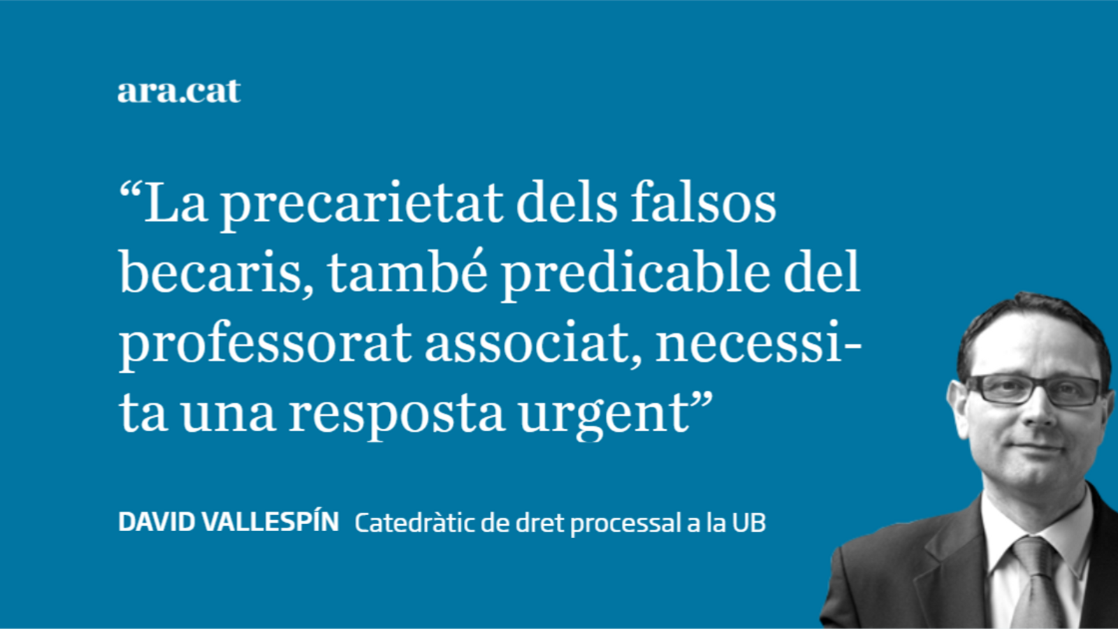Falsos becaris a la universitat?